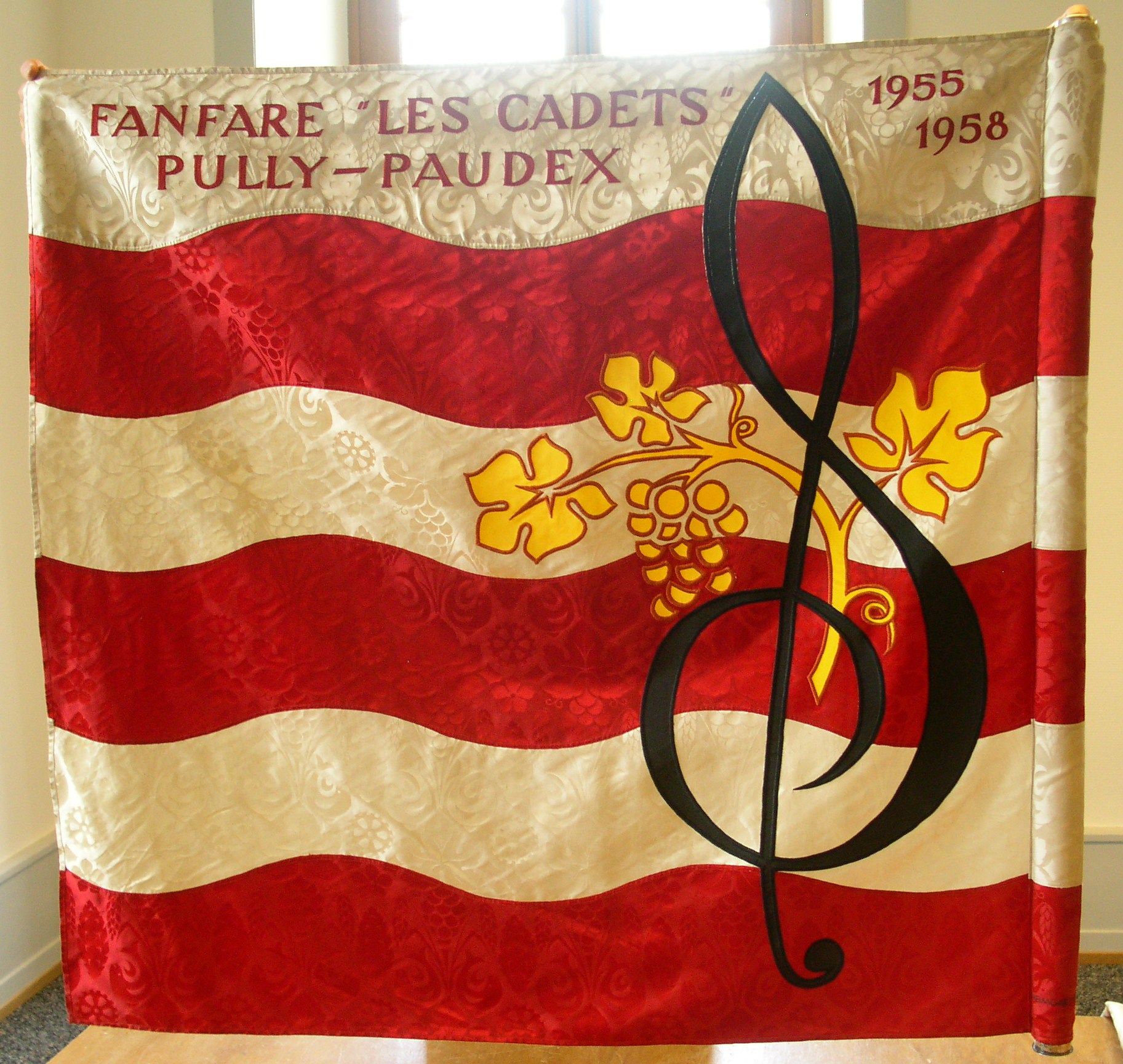 Drapeau des cadets 1958